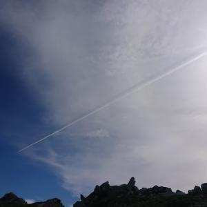 雲の形(@木曽駒ヶ岳)