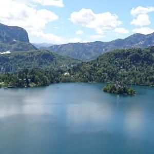 ブレッド湖の島