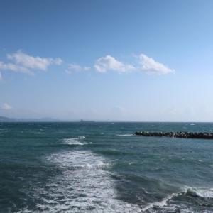 海辺の散歩道(@京急久里浜駅~YRP野比駅 一駅ウォーキング)