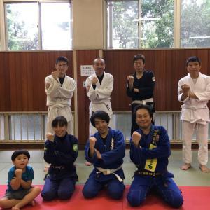 9月16日(月・祝)の練習は11人で『初心者と初級者のための特別練習会=未経験者&初心者&白帯さん&色帯さん向け基本クラス』でした! 東京都練馬区TOYATT柔術練習会