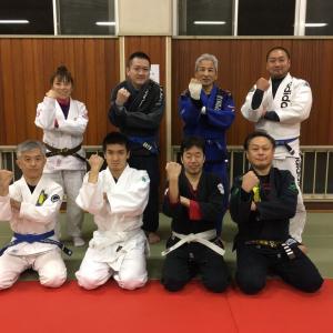 昨日1月20日(月)は8人で『基本クラス(初心者と初級者のための特別練習会)』 でした! 東京都練馬区TOYATT柔術練習会