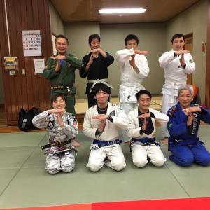 昨日1月27日(月)は9人で『基本クラス(初心者と初級者のための特別練習会)』 でした! 東京都練馬区TOYATT柔術練習会