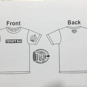 【お知らせ】オリジナルTシャツ&プルオーバーパーカー作ります!2点以上お買い上げで消費税分をサービス(^^)/どなたでも購入できます♪ 東京都練馬区TOYATT柔術練習会