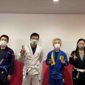 6月25日(金)友好団体の『SAROS-GYM』さんをお借りしての練習!感染予防対策にご協力いただきました! 練馬区生涯学習団体・TOYATT柔術練習会