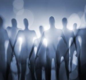 宇宙人による人間狩りだな。
