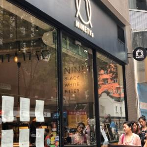 行列のできるCafé NINETY'sが銅鑼湾にオープン