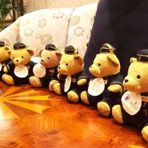 アイランドシャングリアのテディベア《Tony the bear》