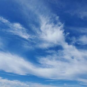 9月15日朝の空