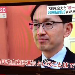 国際合同結婚式 (テレビ映像)