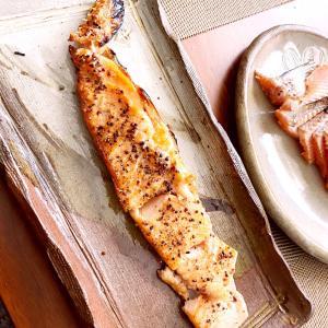 あたぼうクッキング  鱒のハラス焼き