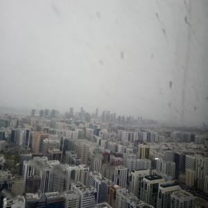 アラブの街で雨が降ると大惨事。