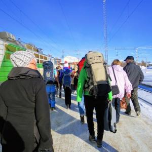 07.フィンランド北の地へ。トナカイそりが癒しすぎた!:Rovaniemi(ロヴァニエミ)その1