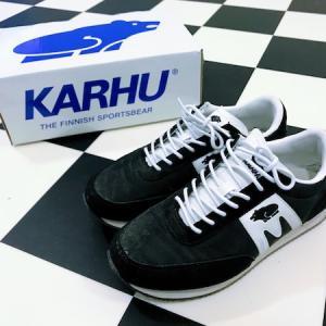 フィンランド生まれのブランド、Karhu(カルフ)のスニーカーを買った!