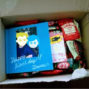 《国際郵便》フィンランドへ誕生日プレゼントを送る!