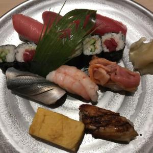 令和元年十一月十三日(水)鮨いしかわで濱風とヱビス小瓶