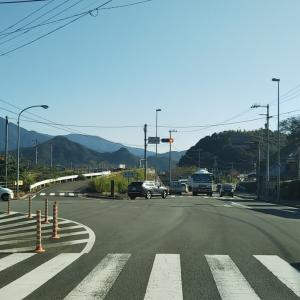 秋晴れの道の駅みま~曽根バス停