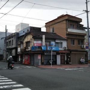 早春の中央町~宇和島税務署