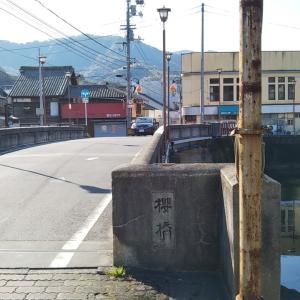 咲き始めた吉田町立間川沿いの桜