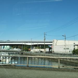 初夏の新田町と明倫橋