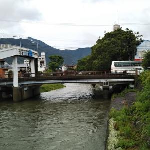 雨上がりの和霊公園~JR宇和島駅前