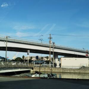 彼岸入りの宮下橋~番城橋