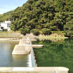 秋分の日の内子町小田川沿いを知清橋へ