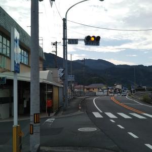 曇り空の吉田町魚棚周辺
