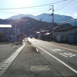 秋晴れの徳の森バス停~高串歩道橋