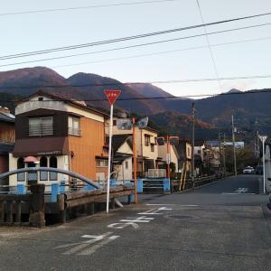 夕暮れの中央町~和霊元町