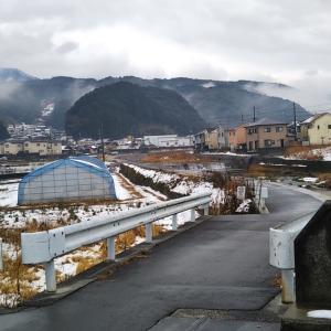 真冬の保田橋~千歳橋
