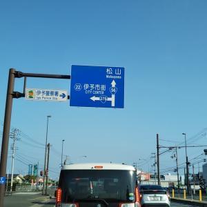 早春の松山中央公園~市坪橋