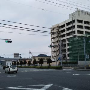 曇り空の栄町港~和霊公園