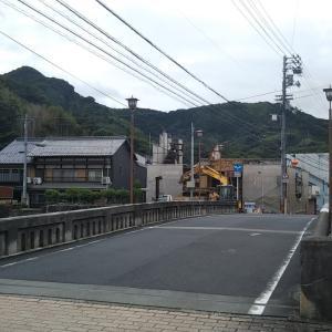 梅雨空の吉田町桜橋~界橋