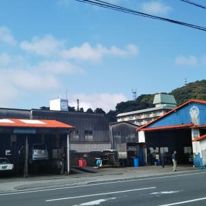 梅雨の晴れ間の伊吹町北通~和霊公園前