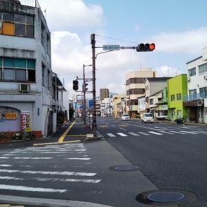 梅雨の晴れ間の和霊公園前~須賀橋