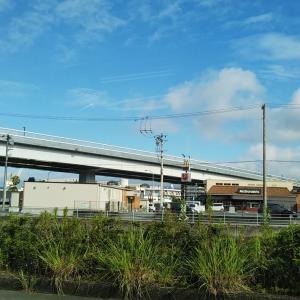 梅雨の晴れ間の保田栗木橋へ
