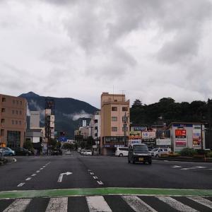 梅雨空の夏目町~中沢町