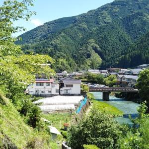 梼原町和田城跡~飯母第一隧道前