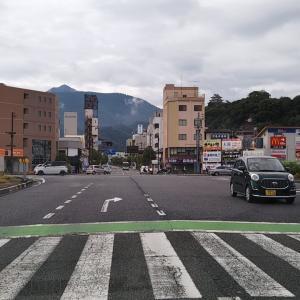 曇り空の宮下橋~三島橋