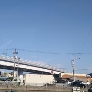 秋晴れの秋分の日、保田橋~友岡橋