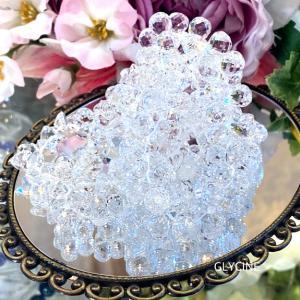 カキ氷みたいです~♪キラキラ透明すぎる水晶たちです(*^-^*)②