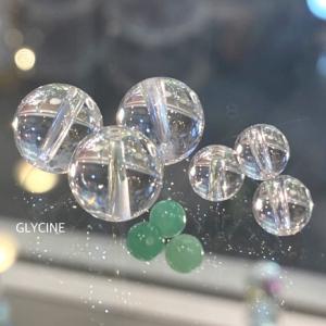 翡翠と水晶のパワーストーブレスレット2本目と3本目♪5月の誕生石ブレスがたくさん~!➀