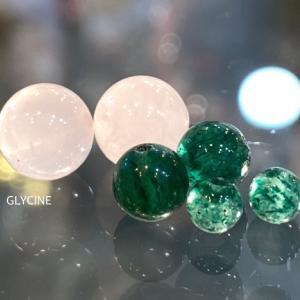 緑のアベンチュリンとローズクオーツのパワーストーンブレスレット2本♪優しい見た目になりました①