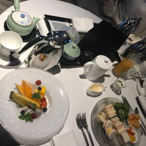 【結婚式当日①】当日の朝ご飯はお仕度部屋で♪