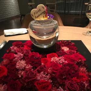 入籍1年記念日のディナーは結婚式でお世話になったあの場所へ♡