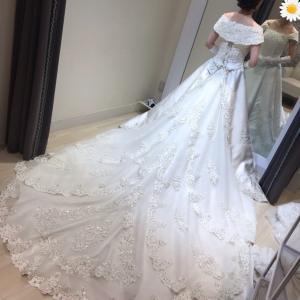 【Weddingドレス】今更だけど、これでいいのか悩んできました。