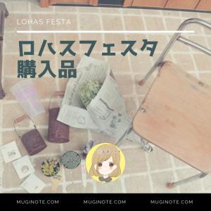 【購入品】ロハスフェスタ2019東京の戦利品を紹介します!