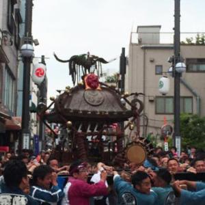 品川神社例大祭、中止です・・・。