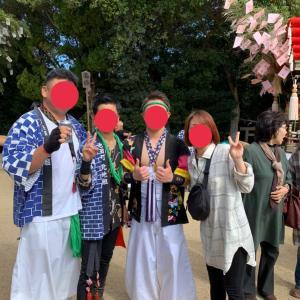 小豆島のお祭りへGO😆🎶③