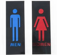 トイレの行列、順番がきたら若い子のあとに入りたい